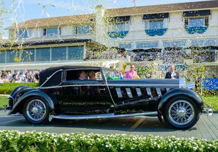 The Best of Show winner at the 2015 Pebble Beach Concours d'Elegance