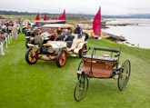 Rare and collectible cars at the Pebble Beach Concours d'Elegance