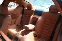 The Ferrari 612 Scaglietti actually has a useable back seat