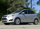 A side view of a 2013 Ford C-Max Energi SEL