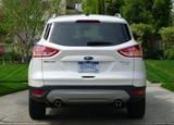 A rear view of a 2013 Ford Escape Titanium 4WD