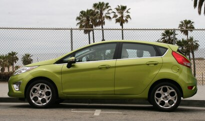 The Ford Fiesta, one of GAYOT's Top 10 Cheap Cars