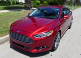 A front view of the 2013 Ford Fusion Titanium AWD