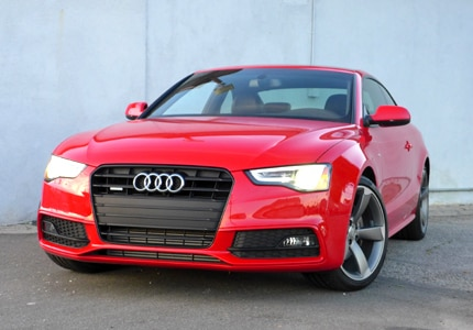 A front view of the Audi A5 2.0T quattro Manual