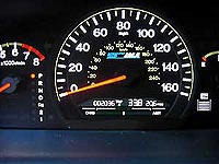Honda Accord Hybrid speedometer