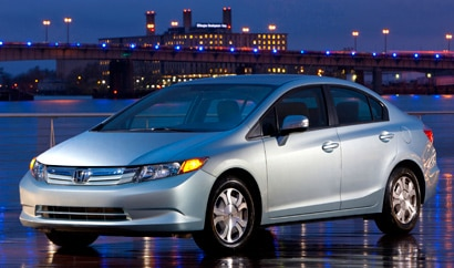 The Honda Civic Hybrid