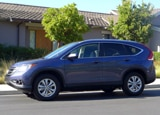 A side view of a 2013 Honda CR-V EX-L AWD