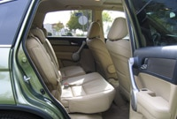 Honda CR-V 60/40 back seat slides forward and reclines