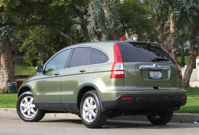 The Honda CR-V sports elegant new rear styling