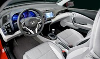 The interior of the 2011 Honda CR-Z