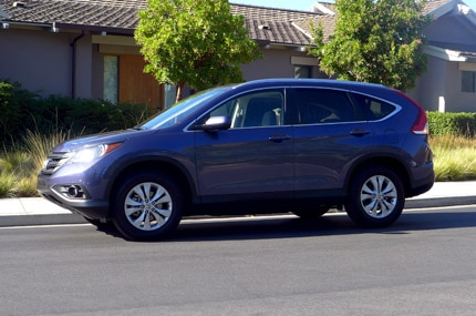 A side view of the Honda CR-V