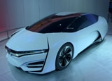 The Honda Hydrogen FCEV Concept at the 2013 LA Auto Show