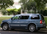 A side view of a 2008 Infiniti QX56 4WD