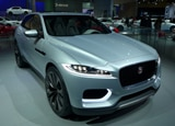 The Jaguar C-X17 at the 2013 LA Auto Show