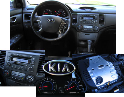 Kia Optima interior offers excellent materials, a clean look and logical ergonomics