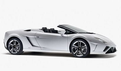 A side view of the Lamborghini Gallardo LP 560-4 Spyder