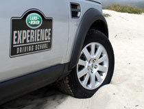 Hitting the sand with the Land Rover Experience at Quail Lodge Golf Club