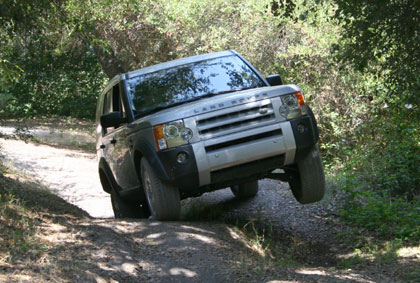 The Land Rover Experience Driving School tests the mettle of both driver and car on its challenging all-terrain courses