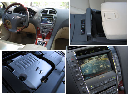 Interior views of the 2007 Lexus ES 350