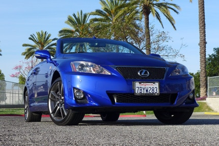 2014 Lexus IS350 Convertible F Sport