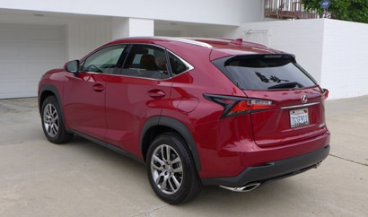 The 2015 Lexus NX 200t, GAYOT's May 2015 Car of the Month