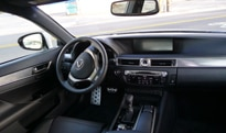 An interior view of the 2013 Lexus GS 350 F Sport