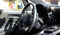 The interior of the 2012 Lexus LFA