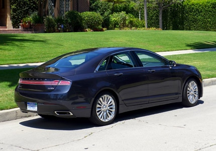 The Lincoln MKZ, one of GAYOT's Top 10 Best Family Sedans