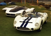 Maserati Birdcage section at the Pebble Beach Concours d'Elegance in Pebble Beach, CA