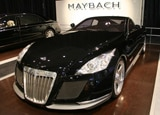 A three-quarter front view of a Maybach Exelero Concept