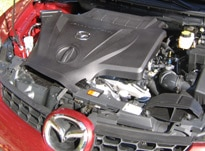 Mazda CX-7 turbocharged four-cylinder engine