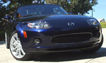 A front bumper view of the 2007 Mazda MX-5 Miata Power