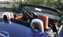 The 2007 Mazda MX-5 Miata Power with its top down