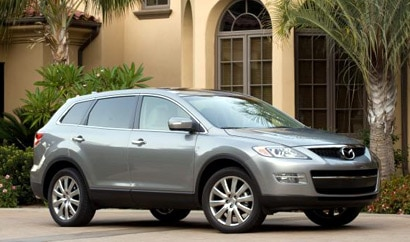 A side view of a 2009 Mazda CX-9 Sport