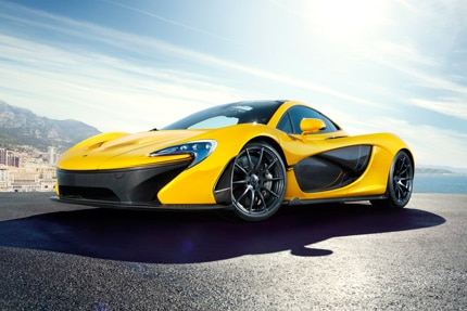 The McLaren P1, one of the world's fastest cars