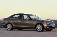 2008 Mercedes-Benz C-Class resembles a shrunken S-Class