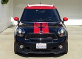 A front view of the 2014 Mini John Cooper Works Countryman