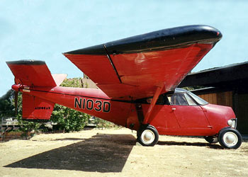 A side view of the original 1956 Aerocar No. 2 (N103D)