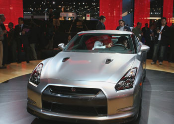 The Nissan G-TR makes its debut at the 2007 Los Angeles Auto Show