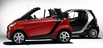 smart fortwo passion and passion cabrio
