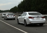 Toyota's Automated Highway Driving Assist allows cars to communicate information on speed, braking and more