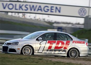 Volkswagen Jetta TDI racecar