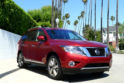The Nissan Pathfinder Hybrid