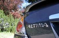 Rear View of the Altima