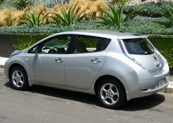 The Nissan Leaf is now available from both Hertz and Enterprise rental companies in select cities