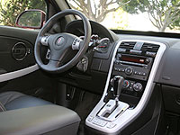 The interior of the 2008 Pontiac Torrent