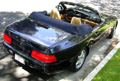 Porsche 968 Rear