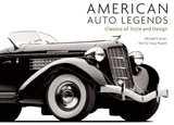 American Auto Legends, by Tracy Powell and Michael Furman, features some of the greatest classic American cars