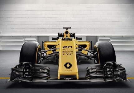 Renault's all-new Formula 1 R.S.16 livery has debuted for 2016 races