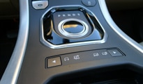 The center console of the 2012 Range Rover Evoque 5-Door